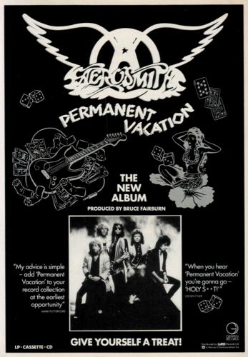 Aerosmith Hintergrund probably with Anime entitled Aerosmith '86
