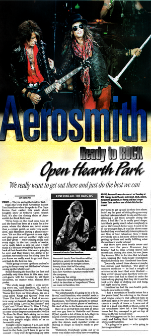 Aerosmith Tour