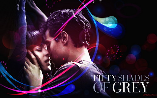Fifty Shades of Grey wallpaper titled Ana and Christian
