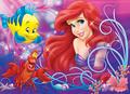 Walt disney imágenes - Flounder, Sebastian & Princess Ariel