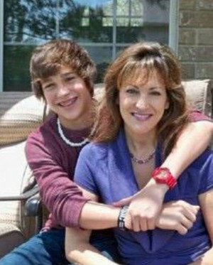 Austin and his Mom