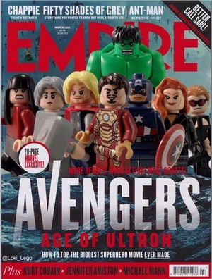 Avengers: Age of Ultron - LEGO Empire Magazine Cover