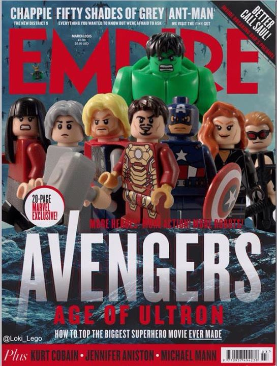 Avengers: Age of Ultron - LEGO Empire Magazine Cover