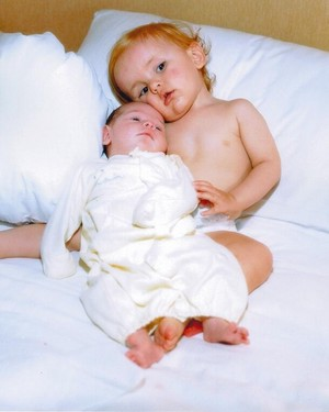 Baby Paris and Prince Jackson