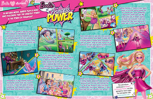 Барби in Princess Power Magazine