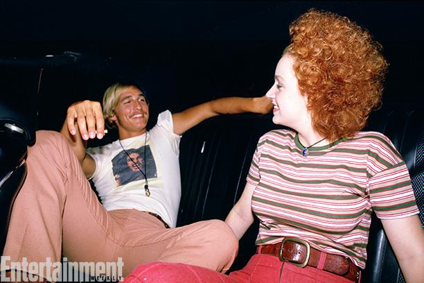 Behind the Scenes - Matthew McConnaughey and Marissa Ribisi