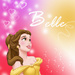 Belle icon - disney-princess icon