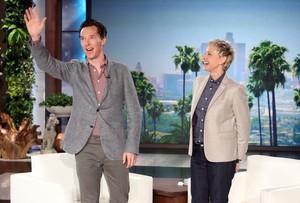 Benedict on the Ellen Degeneres 表示する