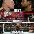 Best Ending Possible!  - wwe photo