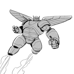 Big Hero 6 - Baymax Concept Art