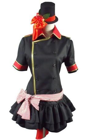 Black Butler 黒執事 Ciel Phantomhive Black Lolita Cosplay Costume
