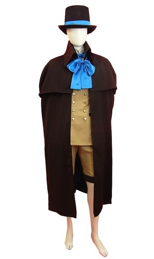Black Butler कुरोशितसूजी Ciel Phantomhive Steampunk Suit Cosplay Costume