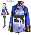 Black Butler Kuroshitsuji Ran mao Blue Cat Cheongsam Cosplay Costume