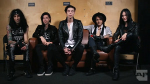 Black Veil Brides AP Interview