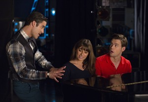 Blaine, Rachel, Sam 6x04