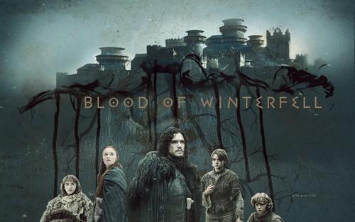 गेम ऑफ थ्रोन्स वॉलपेपर entitled Blood of Winterfell