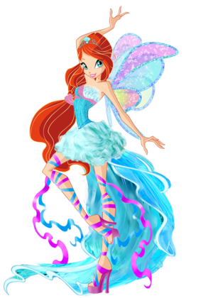 Bloom Harmonix پرستار Art