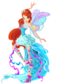 Bloom Harmonix tagahanga Art