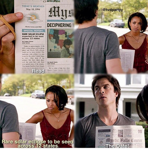 Bonnie and Damon || HUMOR