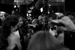 Brad Pitt and Angelina Jolie among the photographers