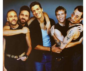 Brett, Nick, Simon and BSB