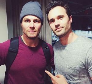 Brett and Stephen
