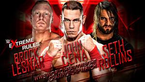 Brock vs John vs Roman
