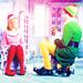 Buddy, Jovie and Papa Elf