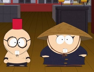 Butters and cartman