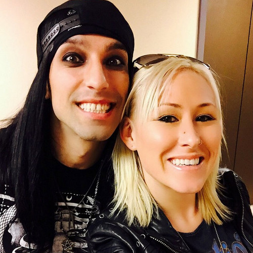 Christian Coma hình nền possibly with a portrait titled CC and Shannon Gunz...NAMM 2015