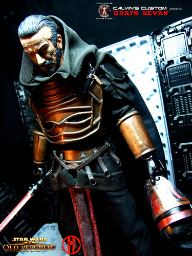 étoile, étoile, star Wars fond d'écran possibly containing a breastplate titled Calvin's Custom one sixth scale SWTOR Darth Revan Figures