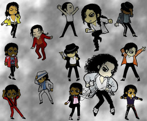 Cartoon Michael Jackson