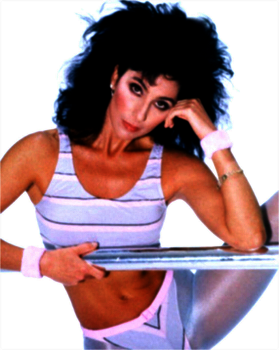 Cher پیپر وال called Cher Fitness '82