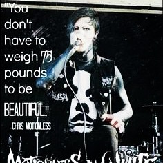 Chris motionless quote