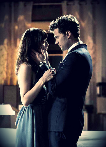 Fifty Shades of Grey wallpaper entitled Christian and Ana
