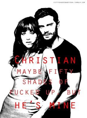 Christian and Anastasia/Jamie and Dakota
