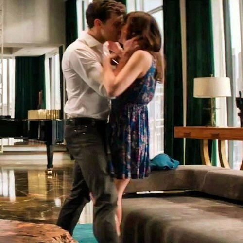 Fifty Shades of Grey wallpaper with a living room, a drawing room, and a den called Christian and Anastasia