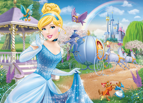 Disney Princess achtergrond containing a bouquet called Cinderella
