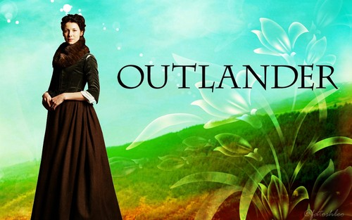 serial tv outlander 2014 wallpaper called Claire-wallpaper