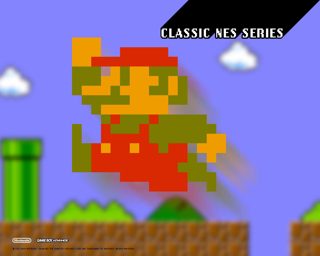 Mario wallpaper titled Classic NES Series: Super Mario Bros. wallpaper