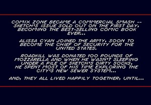 Comix Zone Ending Epilogue