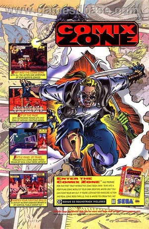 Comix Zone Advert