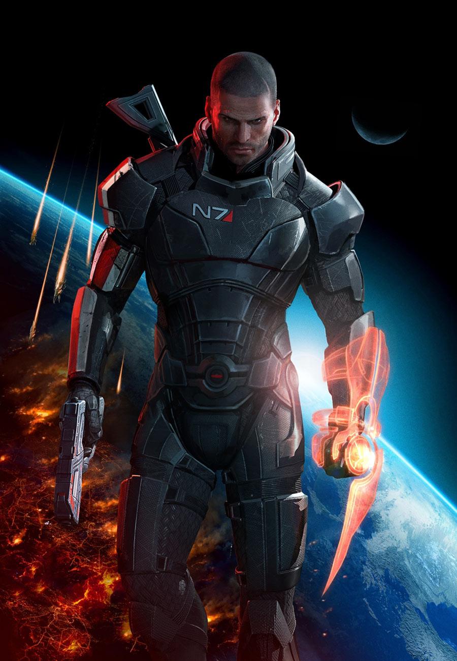 Commander Shepard Mass Effect 3 Litrato 38072999 Fanpop