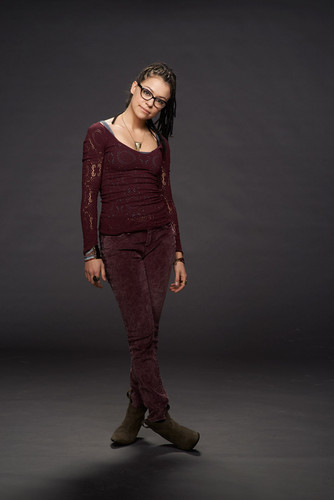 Orphan Black wallpaper containing an outerwear and a well dressed person called Cosima Niehaus Season 2 Promotional Picture