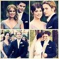 Cullen couples - twilight-series fan art