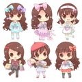 Cute chibi girls