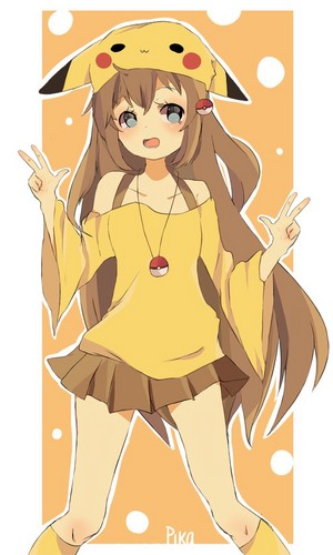 Cute pika girl