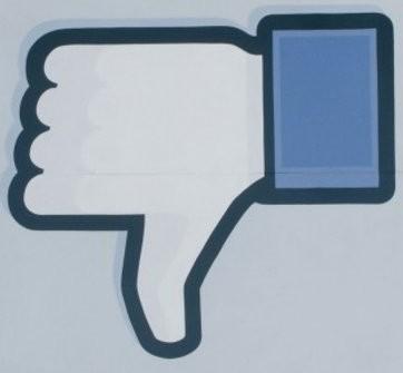 Facebook wallpaper entitled DISLIKE FACEBOOK
