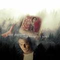 Damon and Bonnie - the-vampire-diaries-tv-show fan art