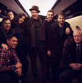behind the set of Now You See me 2 (Fb.com/DanielJaocbRadcliffeFanClub) - daniel-radcliffe photo